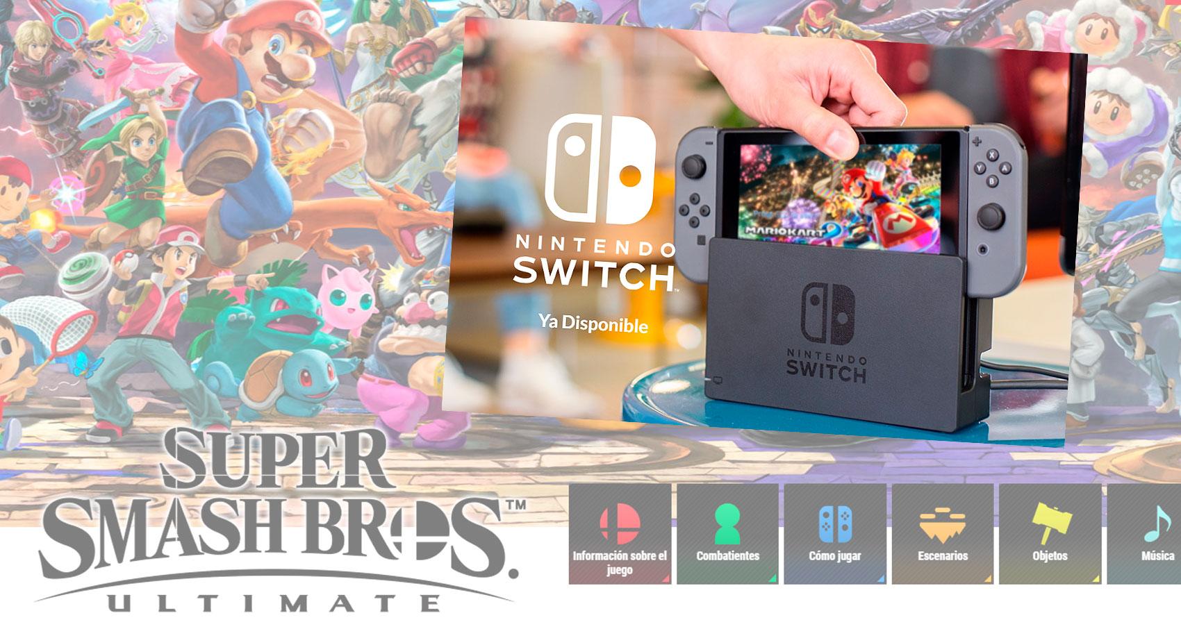 Nintendo Switch Super Smash Bros Ultimate Ecosbox